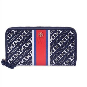 Tory Burch Gemini Link Waller Blue